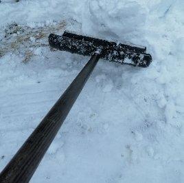 Skottar snö