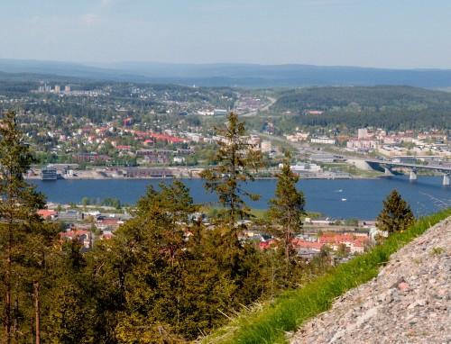 utsikt från Södra Berget